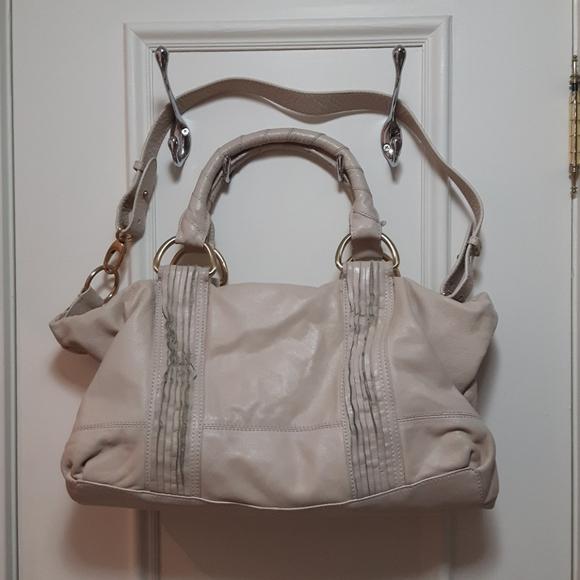 Tahari genuine leather handbag